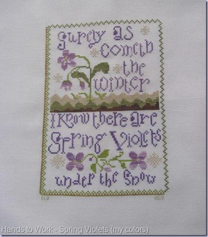 Spring Violets 006