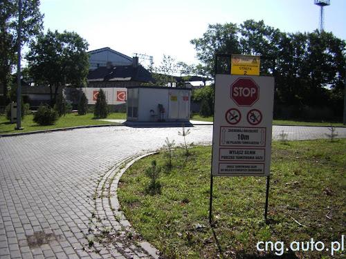 Likwidowana stacja CNG w Legnicy