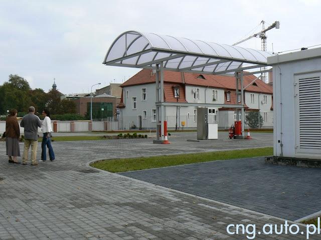 Zamknięta stacja CNG w Bydgoszczy