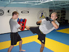 Eastern Academy, Muay Thai group class in Virginia Beach, Muay Thai student promotion, Muay Thai  amateur  pro-fighters,