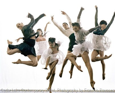 Cedar Lake Contemporary Ballet, Photography by Francois Rousseau