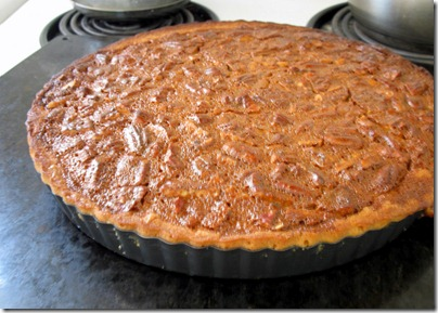 pie out of oven