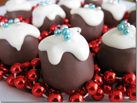 mini chocolate puddings