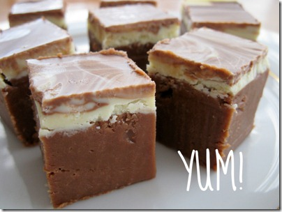 Yum fudge