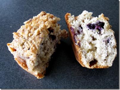 inside muffin