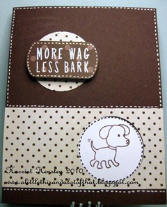 HA more wags, less bark