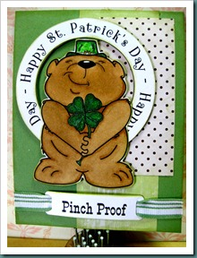 St. Patty Day Bear - DDShop