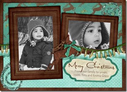 christmascardreindeer