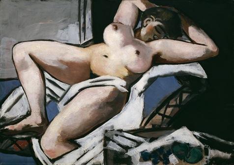 Reclining Nude, 1929 - Max Beckmann