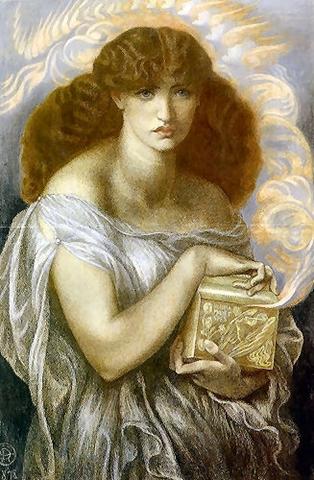 Dante Gabriel Rossetti - 1879 - pandora