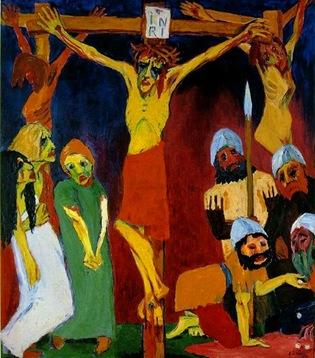 Emile Nolde (1867-1956) - Crucifixion 1912