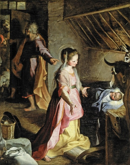 The Birth 1597 - Barocci