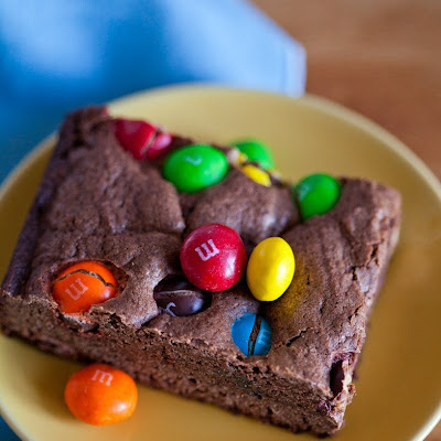 M&M'S Peanut Butter Brownies
