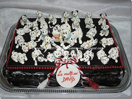 101 dalmations birthday cake