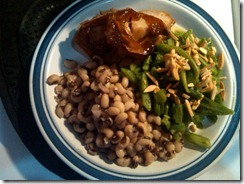 plated pork loin