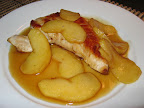 Pan Seared Turkey Breast with Apple and Maple Sauce