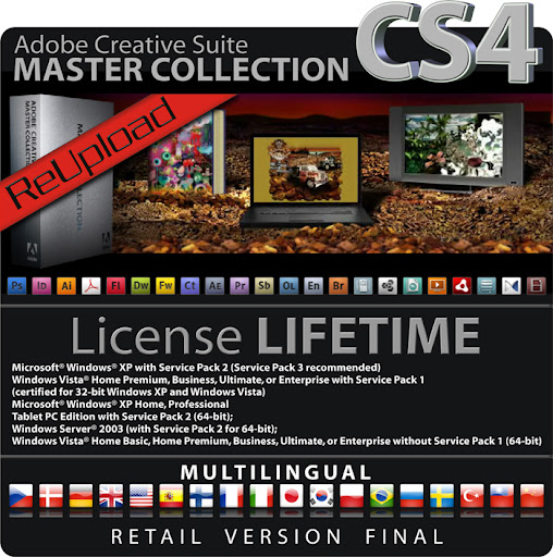 Adobe Creative Suite 3 Master Collection 1-6 (6 dvds)