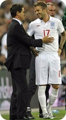 Becks with Capello