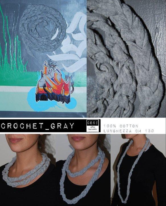 Crochet grey
