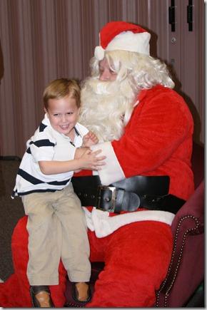 bex with santa