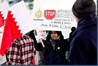 Protester 1