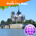 Paris Street Map icon