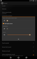Screenshot of Flow Orange Theme for CM11