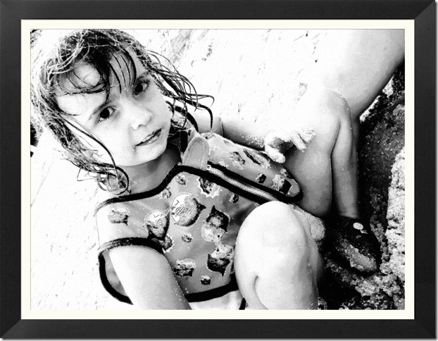 FotoSketcher - Emily pencil draw b-w