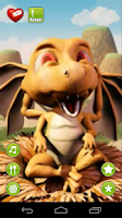 Screenshot of Talking Baby Dragon