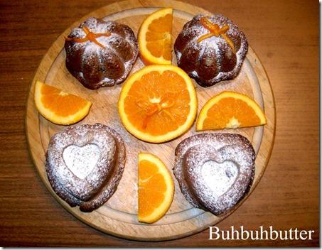 cupcakes cioccolata & arancia