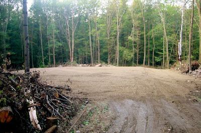 First full day of septic work