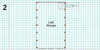 Initial plan for loft (being no plan)