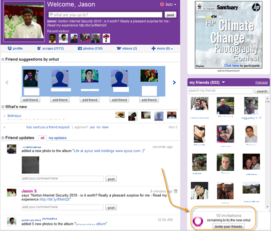 New Orkut 1