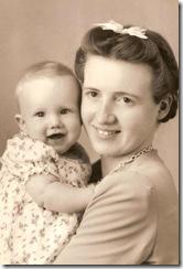 Edythe & Linda Sept 1942