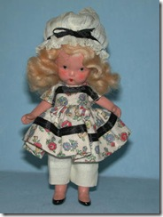 little miss muffet story book doll