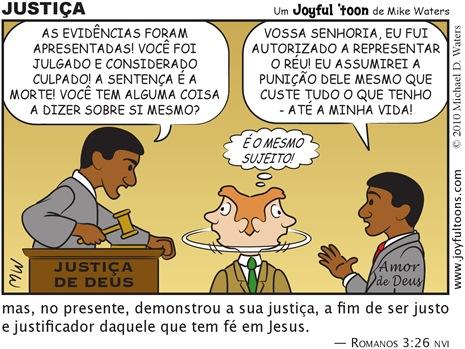 Joyful 'toon 151_Justice PT.BR