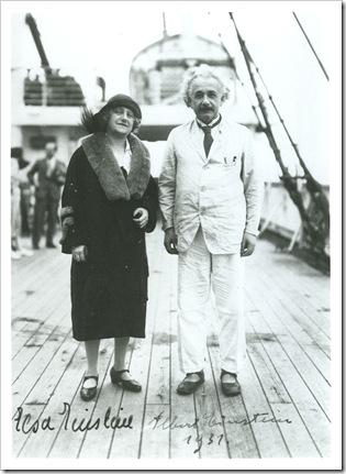 Einstein e Elsa