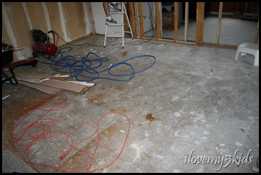 Concrete in Living Room