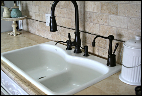 travertine tile on clearance - Kitchen Sink Water Dispenser