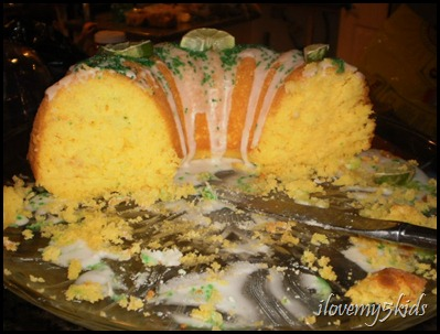 Margarita Cake gone...