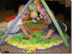 Daniel and Tummy Time