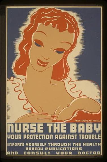 Breastfeeding_WPA_poster