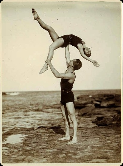 Acrobats - 1930s