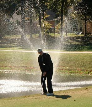 p golf vatten