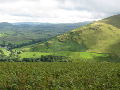 Looking towards Souther Fell, and the start/end point