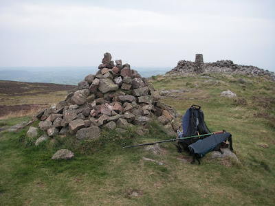 Binsey summit cairn