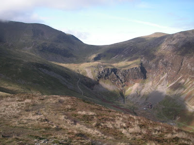 View from Outerside to head of Coledale