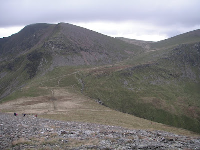 Hopegill Head towards Eel Crag and Wandhope
