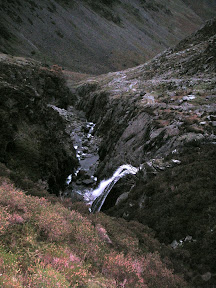 Looking down Warnscale Beck