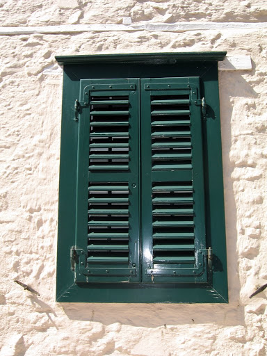 Old fashioned shutter
